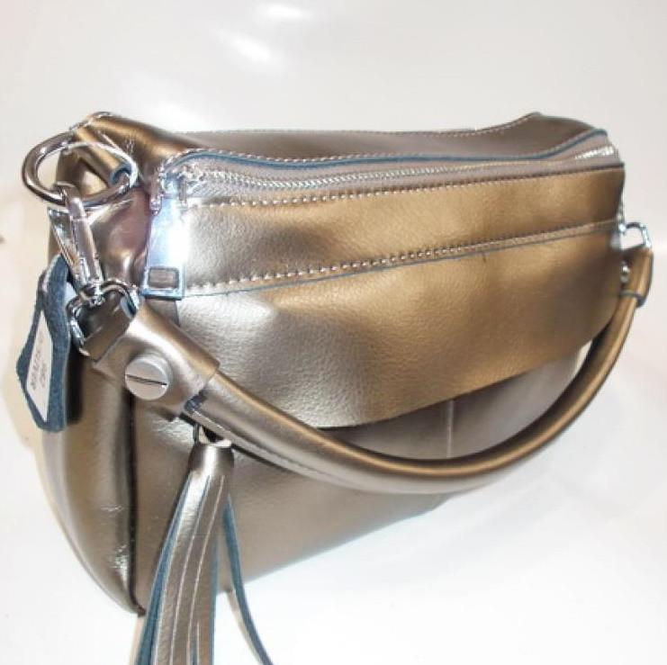 a28421f97483 Женский кожаная сумка клатч 982 dark silver женские клатчи из натуральной  кожи купить недорого