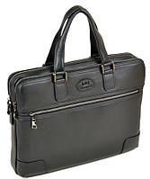 Сумка Мужская Портфель кожаный BRETTON BE 5415-1  black.Купить мужскую кожаную сумку
