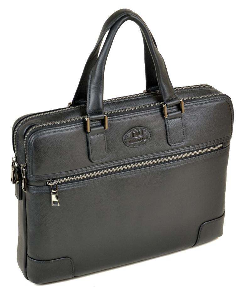 e2c15edecd70 Сумка Мужская Портфель кожаный BRETTON BE 5415-1 black.Купить мужскую  кожаную сумку -