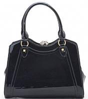 Женская сумка 2087 black купить женскую красивую каркасную сумку, фото 1
