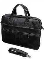 Мужская сумка кожанная 8042 Black