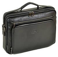 895fa317e277 Сумка Мужская Портфель кожаный BRETTON BE 3492-8 black.Купить мужскую  кожаную сумку