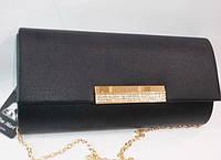 Женский праздничный клатч 046 черный купить праздничный клатч, фото 1