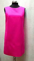 Платье Fendi малиновое без рукава