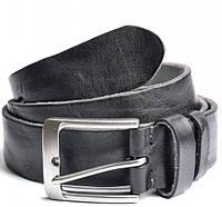 Мужской кожаный ремень 2605 Black кожаные мужские ремни