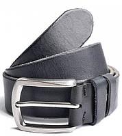 Мужской кожаный ремень D52 Black кожаные мужские ремни