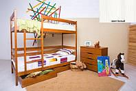 Двухъярусная кровать Дисней 90х200, 2-х ярусная кровать, цвет белый