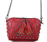 Женский клатч 1612-2 red женский клатч, женская сумка на плечо, фото 1