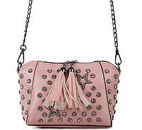 Женский клатч 1612-2 pink женский клатч, женская сумка на плечо, фото 1