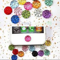 Стикер ( наклейка) на кнопку Home  для Iphone 4, 4S , 5, 5S, Ipad