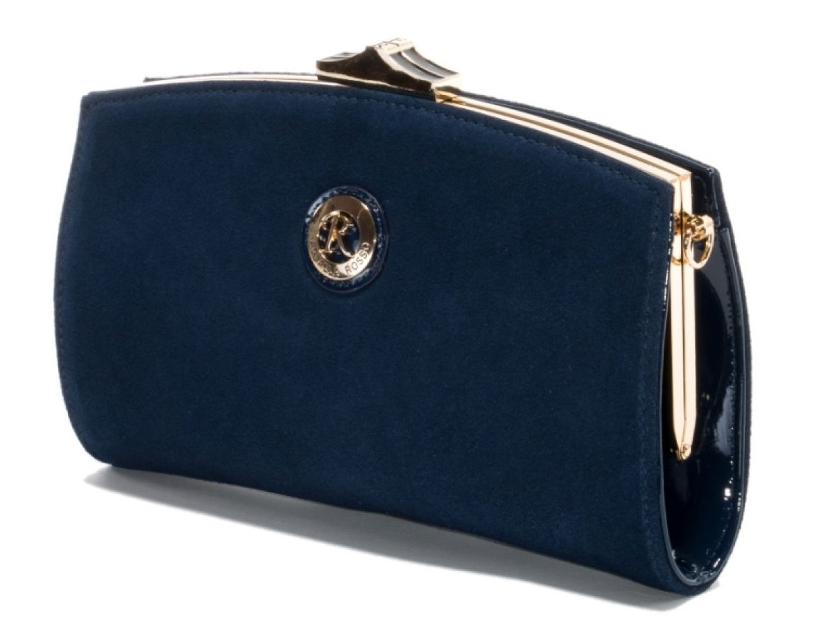 84d5c3a031f6 Купить Клатч женский Farfalla Rosso синий замшевый (арт.62324 ...