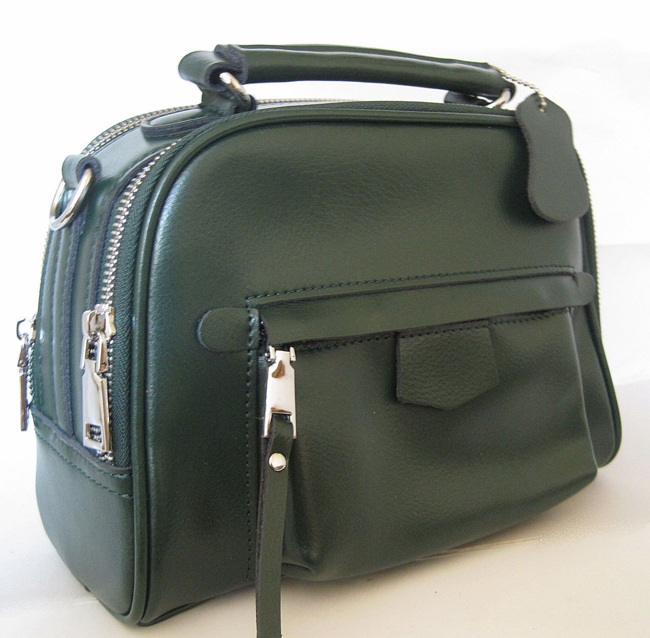 df0d895757c6 Женский кожаная сумка клатч 078 Green Женская кожаная сумка, кожаный женский  клатч