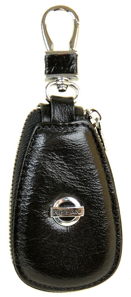 ea436123b616 Ключница кожаная авто Nissan F633 Black Кожаная ключница оптом и в розницу  Одесса 7км