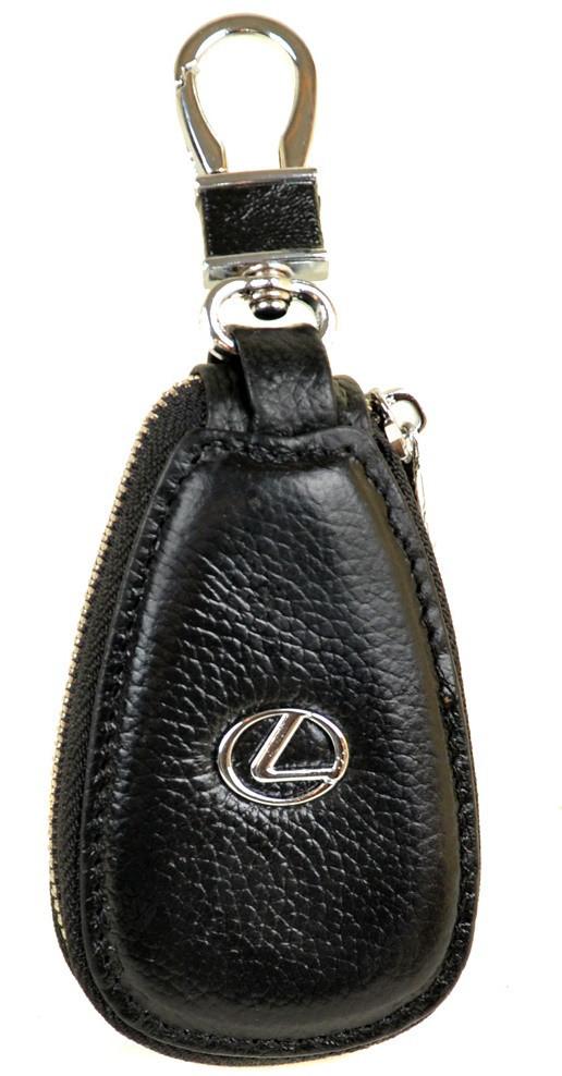 5cac1f29e1fd Ключница кожаная авто Lexus F633 Black Кожаная ключница оптом и в розницу  Одесса 7км