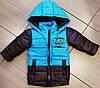 Детская куртка жилетка для мальчика весна осень с капюшоном, фото 3