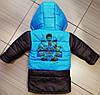 Детская куртка жилетка для мальчика весна осень с капюшоном, фото 4