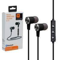 Беспроводные наушники MP3 Bluetooth JBL E10