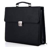 Мужской портфель 7208 черный.Купить оптом и в розницу Одесса 7 км.