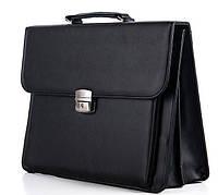 Мужской портфель 7201 черный.Купить оптом и в розницу Одесса 7 км.