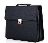 Мужской портфель 7212 черный.Купить оптом и в розницу Одесса 7 км., фото 1
