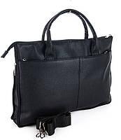 Мужской портфель 7410 черный.  Пошив сумок под заказ