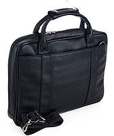Мужской портфель 7423 черный.  Пошив сумок под заказ, фото 1