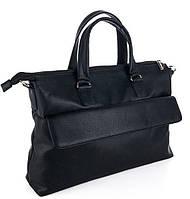 Мужской портфель 7466 черный. Пошив сумок под заказ
