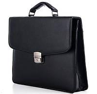 Мужской портфель 7226 черный. Пошив портфелей под заказ, фото 1