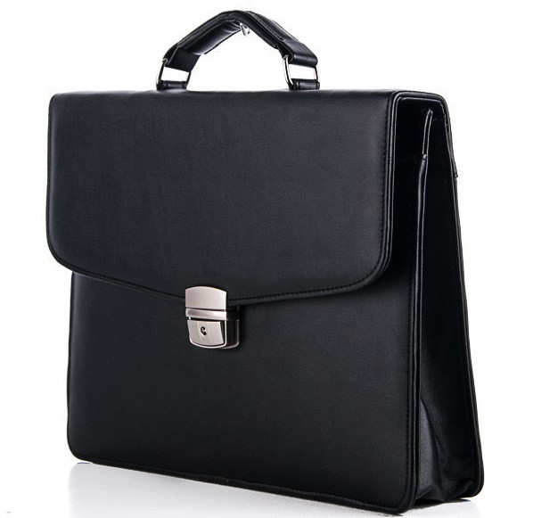 cb2e45413404 Купить Мужской портфель 7226 черный. Пошив портфелей под заказ ...