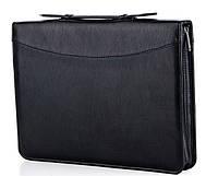 Папка деловая 7104 Black Широкий выбор деловых папок оптом и в розницу по оптовым ценам, фото 1