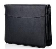 Папка деловая 7105 Black Широкий выбор деловых папок оптом и в розницу по оптовым ценам, фото 1