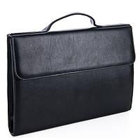 Папка портфель 7113 Black Широкий выбор деловых папок оптом и в розницу по оптовым ценам, фото 1