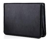 Папка деловая 7108 Black Широкий выбор деловых папок оптом и в розницу по оптовым ценам, фото 1