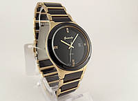 Мужские часы Guardo - Ceramic, Made in Italy, цвет золото, керамика