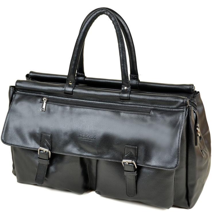 660d76d546f5 Мужская дорожная сумка DR. BOND 8712 black купить недорого дорожную сумку  искусственная кожа - Интернет