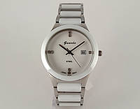 Мужские часы Guardo - Ceramic, Made in Italy, цвет серебро, керамика
