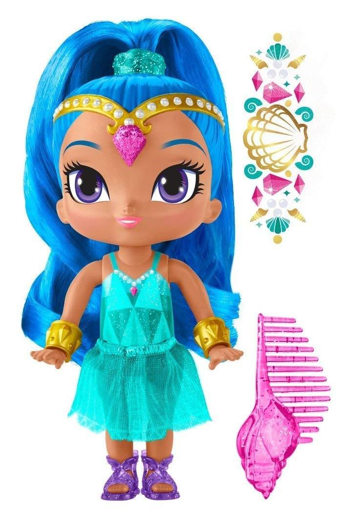 Fisher-Price Кукла Шайн на пляже Шиммер и Шайн / Shimmer & Shine Genie Beach Shine Doll Nickelodeon