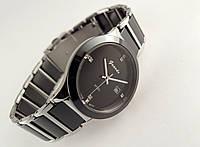 Мужские часы Guardo - Ceramic, Made in Italy, цвет серебро, керамика, черные