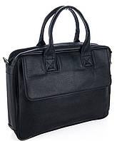 Мужской портфель 7404 черный.  Пошив сумок под заказ