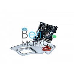 Переключатель передний Shimano SLX FD-M671 под 3х10 трансмиссию, универсальная тяга, хомут  34,9