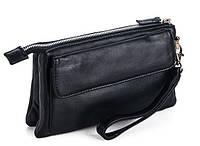 Клатчи мужские 7804 черный. Мужские клатчи от производителя, пошив мужских сумок, пошив барсеток, фото 1