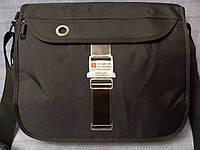 Мужская сумка Sky Bow H3162 черная ткань, фото 1