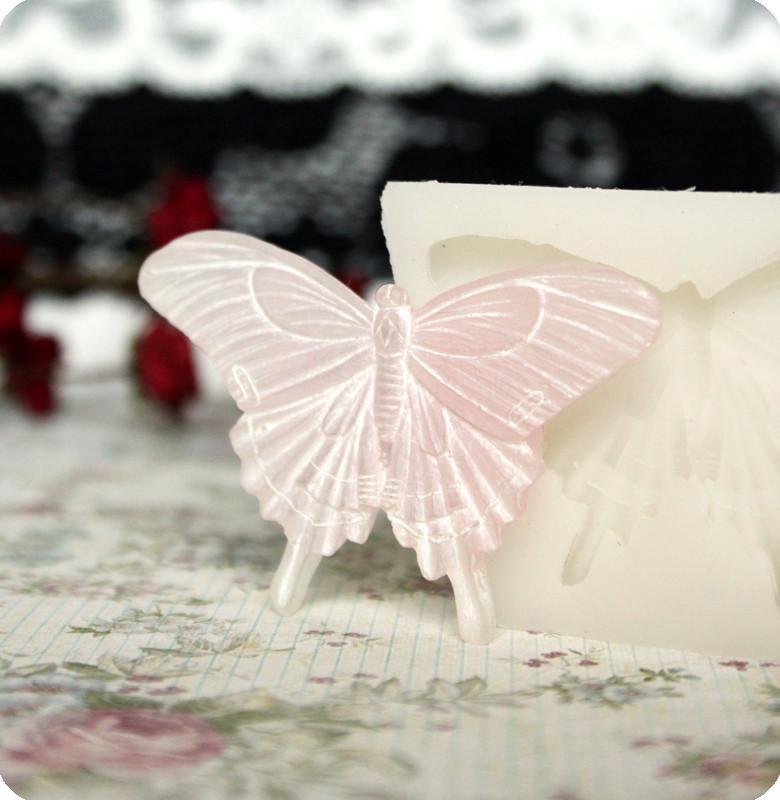 Силиконовый молд бабочки