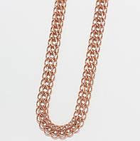 Серебряная позолоченная цепочка 10312-З