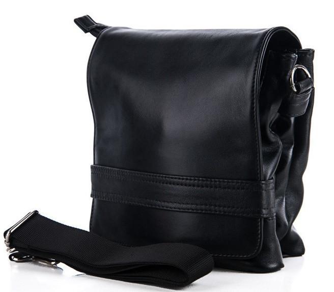38c5ea265eb7 Мужская кожаная сумка 7430 Black Сумки мужские из натуральной кожи купить  оптом Одесса