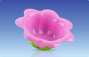 "Тарелочка глубокая ""Цветочек"", 18m+ Nuby (22035)"