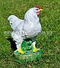 Садовая фигура Петух большой и Курица, фото 4