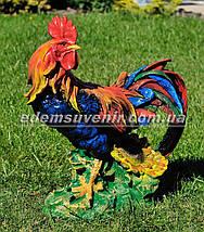 Садовая фигура Петух большой и Курица, фото 3