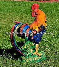 Садовая фигура Петух большой и Курица, фото 2