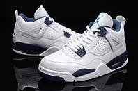 """Мужские Баскетбольные кроссовки Air Jordan Retro 4 """"Columbia"""" , фото 1"""